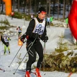 Skiing 90 km - Fredrik Lagerhorn (6154)