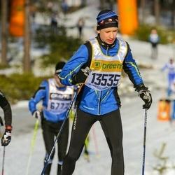 Skiing 90 km - Emil Åberg (13535)