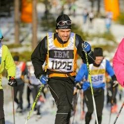 Skiing 90 km - Fredrik Reinholdsson (11225)
