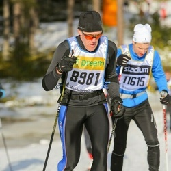 Skiing 90 km - Dieter Janz (8981)