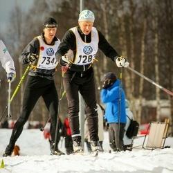 Skiing 90 km - Stellan Holmstrand (7283), Dimitri Jiriakov (7347)