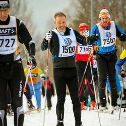 Skiing 90 km - David Moldin (15100)