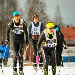 Skiing 90 km - Niklas Persson (6321), Dean Mcgowan (7513), Alexander Lilja (8445)