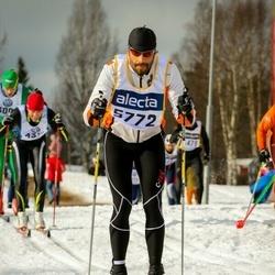 Skiing 90 km - Daniel Hadorn (5772)