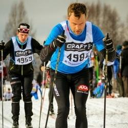 Skiing 90 km - Petrus Nordin (4982)