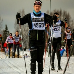 Skiing 90 km - Karsten Kopland (4959)