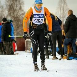 Skiing 90 km - Jonas Viklund (7160)