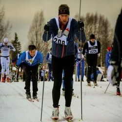 Skiing 90 km - David Hokfors (4208)