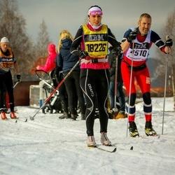 Skiing 90 km - Rikard Westman (4510), Nicole Romanin (18226)