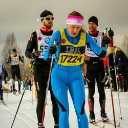 Skiing 90 km - Jenny Josefsson (17224)