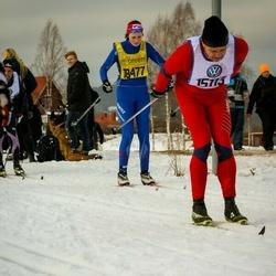 Skiing 90 km - Arild Nygaard (15113), Anna Gunnars (18477)