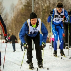 Skiing 90 km - Anders Lenman (5985), Niclas Andersson (6311)