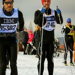 Skiing 90 km - Christian Backström (5746), Jesper Thunoe Olesen (15382)