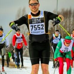 Skiing 90 km - Markus Pantzar (7552)