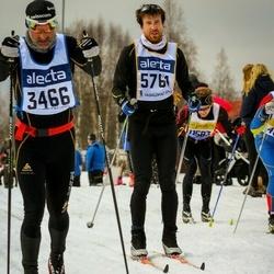 Skiing 90 km - Alois Tambornino (3466), Adam Stenman (5764)