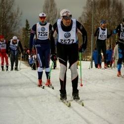 Skiing 90 km - Carlo Fazzini (3527), Jim Persson (7256)