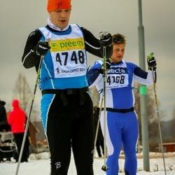 Skiing 90 km - Johan Larsson (4168), Alexander Kozlov (4748)