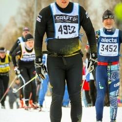 Skiing 90 km - Henrik Karlsson (4932)