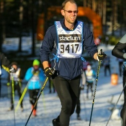 Skiing 90 km - Henrik Pehrson (9417)