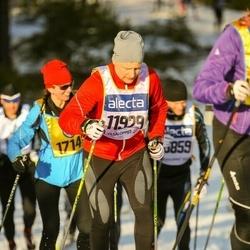 Skiing 90 km - Andreas Bradley (11929)