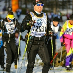 Skiing 90 km - Henrik Augustsson (12031)