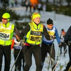 Skiing 90 km - Ellen Evbjer (18200)