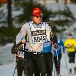 Skiing 90 km - Egil Friestad (8045)