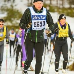 Skiing 90 km - Christer Beskow (9690)