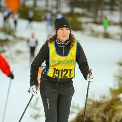 Skiing 90 km - Jenny Hagberg (19121)