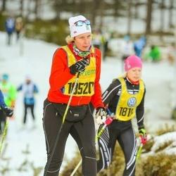 Skiing 90 km - Jennie Gustavsson (18520)