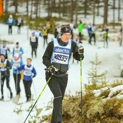 Skiing 90 km - Fredrik Linde (10939)