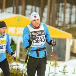 Skiing 90 km - Daniel Eriksson (13643)