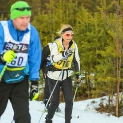 Skiing 90 km - Eva Salo (17116)