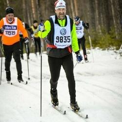 Skiing 90 km - Bjarne Wessel (9835)