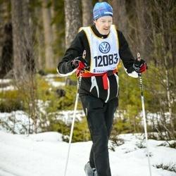Skiing 90 km - Åke Jarlhäll (12083)