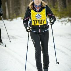 Skiing 90 km - Christina Bergström (17107)