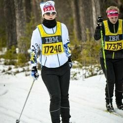 Skiing 90 km - Caroline Johansson (17240)