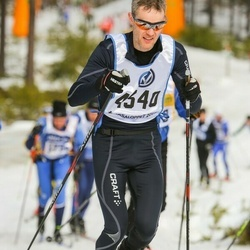 Skiing 90 km - Arnold Pettersson (4340)