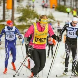Skiing 90 km - Amy Rankka (17459)