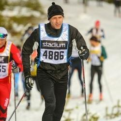 Skiing 90 km - Björn Boström (4886)