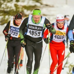 Skiing 90 km - Andreas Carlén (4859)