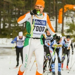 Skiing 90 km - Henrik Martinsson (7000)
