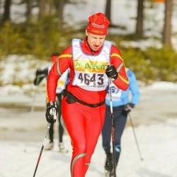 Skiing 90 km - Fredrik Busk (4643)