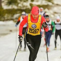 Skiing 90 km - Åsa Bäck (19287)