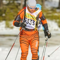 Skiing 90 km - Anders Kulin (6333)