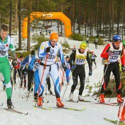 Skiing 90 km - Ulf Hallin (5321), Mattias Strömberg (10189), Taavi Vahar (12014)