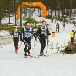 Skiing 90 km - Dimitri Engel (3375), Oscar Modigs (4921)