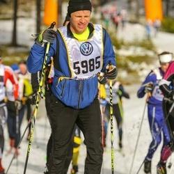 Skiing 90 km - Anders Lenman (5985)