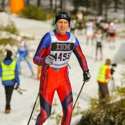 Skiing 90 km - Henrik Hynne (4493)