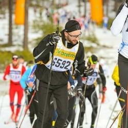 Skiing 90 km - Fredrik Grandin (6592)